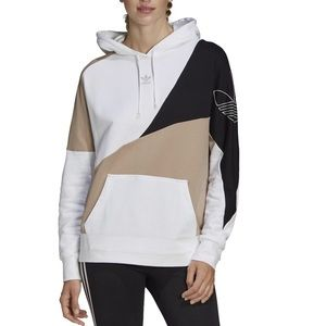 Adidas Originals A2K hoodie in khaki and white M L